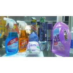 Combo bộ 9 sản phẩm vệ sinh chăm sóc nhà cửa Gift