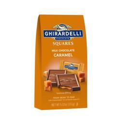 [ Hàng xách tay] Socola cao cấp Ghirardelli Chocolate Squares Dark Chocolate vị Caramen 151g