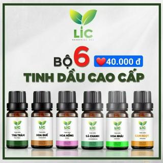 BÃO GIÁ _ Bộ tinh dầu thiên nhiên LIC store cao cấp COMBO6 lọ 10ml _ tự chọn - COMBO6 thumbnail