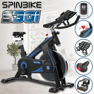 BG Xe đạp tập thể dục cao cấp SPINNING BIKE Model mới S500 BLACK - S500-B thumbnail