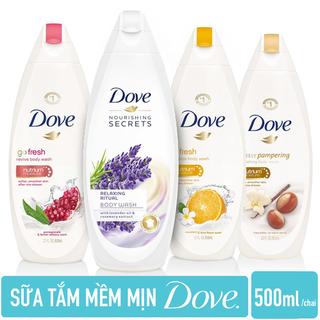 Sữa tắm DOVE Nhập khẩu từ ĐỨC 500ml - 1 Sữa tắm Dove Đức 500ml thumbnail