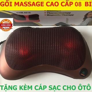 Gối massage đảo chiều giảm mệt mỏi 8 bi - GMS2 thumbnail