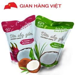 Snack dừa sấy giòn Vạn Đức (túi 30gr)