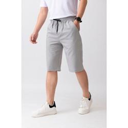 Quần shorts nam chất liệu vải đũi thoáng mát thời trang