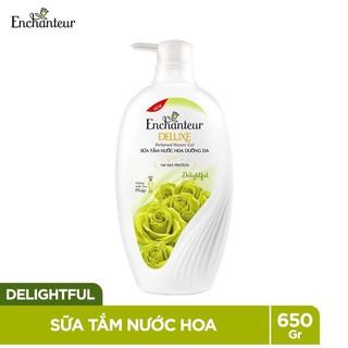 Sữa tắm Enchanter hương nước hoa 650g tặng túi sữa tắm 200 xanh LÁ - ENCHANTER3 thumbnail