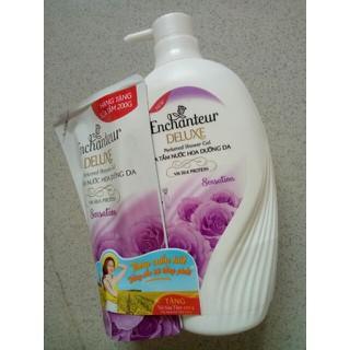 Sữa tắm Enchanter hương nước hoa 650g tặng túi sữa tắm 200 tím - ENCHANTER1 thumbnail