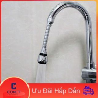 Đầu nối vòi tăng áp cho vòi rửa bát các loại vòi rửa chén,Vòi rửa mặt tăng áp tiết kiệm nước siêu tiết kiệm nước có dây lò xo bẻ xoay 360 độ tiện lợi giá rẻ CONET - Đầu nối vòi tăng áp thumbnail