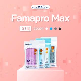 Combo 3 túi khẩu trang y tế cao cấp 4 lớp Famapro Max (10 cái Túi) - FMTCB3 thumbnail