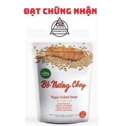 [HÀNG CÔNG TY] Bò Nướng Chay An Nhiên 150g, Thịt Chay, Thực Phẩm Chay Dinh Dưỡng, Thuần Chay Healthy, Đồ Ăn Chay