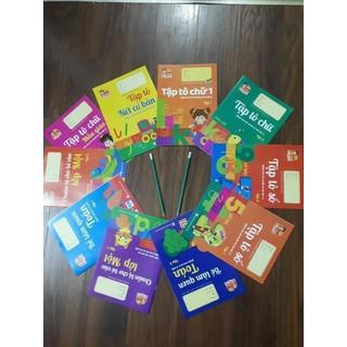 Bộ 10 quyển tập tô hành trang cho bé vào lớp 1 - sp05 thumbnail