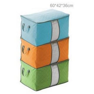 Túi vải đựng quần áo xếp gọn 60x42x36cm - 3353 thumbnail