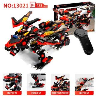Đồ chơi xếp hình lego not 433 khối lego Mould King 13021 Rồng đá Ninjago có điều khiển cho trẻ em - 13021 thumbnail