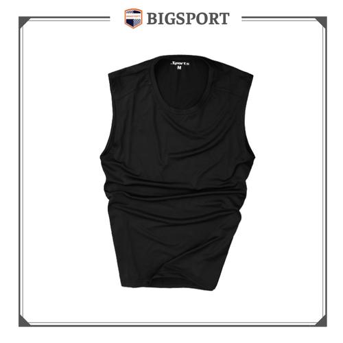 Áo thun nam 3 lỗ thể thao vải dệt kim co giãn 4 chiều cao cấp Big Sport
