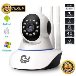 Camera IP CARECAM 3 Anten 2.0MP - FHD 1080P, đàm thoại 2 chiều, phát hiện chuyển động, cam có thể hỗ trợ lên tới 128gb