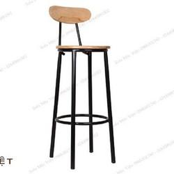 Ghế quầy bar.gỗ cao su( ghế ngồi quầy thu ngân)