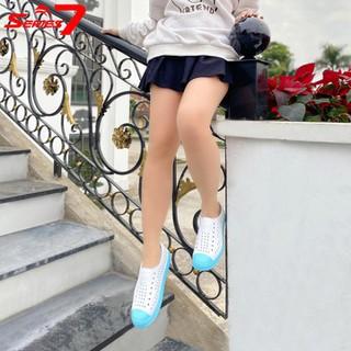 Giày nhựa nữ thời trang đi mưa đi biển đi dạo phố - chất liệu nhựa Eva Phylon cao cấp, siêu nhẹ, siêu mềm, êm chân, không thấm nước chính hãng Urban Viet Nam - XLTWSr7 thumbnail