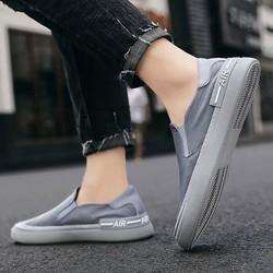 Giày Nam Lười Cao Cấp Chất Vải Polyester Chống Thấm, Slip on Nam. Nhiều Size Lựa Chọn
