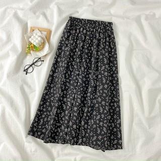 Chân váy hoa nhí dáng dài cạp chun [ĐƯỢC KIỂM HÀNG] 42849607 - 42849607 thumbnail