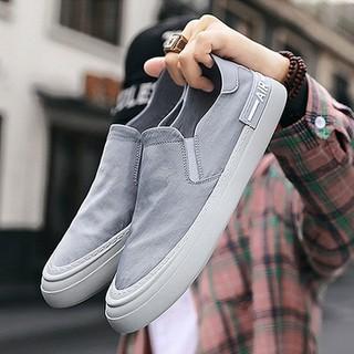 Giày Nam Lười Cao Cấp Chất Vải Polyester Chống Thấm, Slip on Nam. Nhiều Size Lựa Chọn - Giày Nam Lười thumbnail