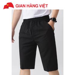 Quần shorts thời trang nam chất liệu vải thun da cá