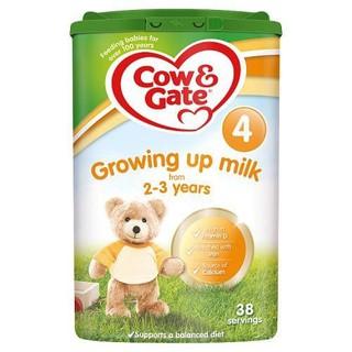 Sữa bột Cow Gate số 4 ( dành cho trẻ từ 2t-3t) Anh Quốc hộp 800g date T6 21 - SBCGA thumbnail