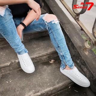 Giày lười nhựa nam thời trang đi mưa đi biển đi dạo phố - chất liệu nhựa Eva Phylon cao cấp, siêu nhẹ, siêu mềm, êm chân, không thấm nước chính hãng Urban Viet Nam - FTMSr7 thumbnail