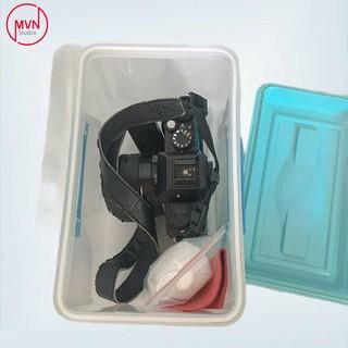 Combo hộp chống ẩm mini 2.5 lít dòng 2 khóa bảo quản máy ảnh film và mirroless vừa 1 body lens kèm theo - MVN Studio [ĐƯỢC KIỂM HÀNG] 42864996 - 42864996 thumbnail