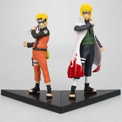Combo 02 Mô Hình Naruto Nhân Vật Uzumaki Naruto vs Namikaze Minato Cực Đẹp - Cao 16cm