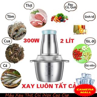 Máy xay thịt cá đa năng, xay giò trả cối Inox 304 loại 2L - Máy xay thịt 2L - Máy Xay Cối thumbnail