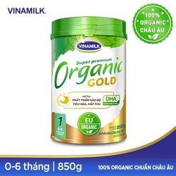 SỮA BỘT VINAMILK ORGANIC GOLD 1 (0 - 6 THÁNG) 850G