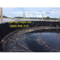 Bạt Hdpe 0.5Mm Khổ 4M,5M,6M Lót Ao Hồ, Chăn Nuôi Thủy Hải Sản Rẻ Nhất 2021