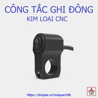 Công tắc Ghi Đông 2 chế độ cho xe máy, xe điện Kim Loại nguyên khối - Cong Tac 2 Che Do thumbnail