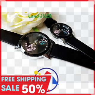 đồng hồ cặp 2 cái Love tặng 2 vòng tỳ hưu 2 pin - caplove02 thumbnail