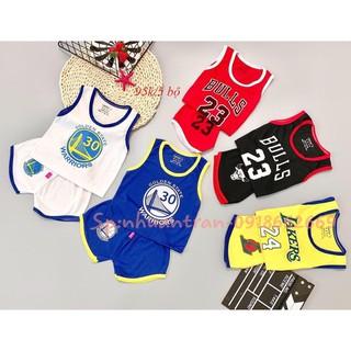 Quần áo trẻ em combo 5 bộ cộc tay bé trai sét bóng rổ size 3-14kg - 4743859522 thumbnail