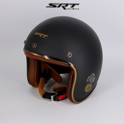 Mũ bảo hiểm 3/4 đầu SRT RUBY có thông gió, chính hãng bảo hành 12 tháng