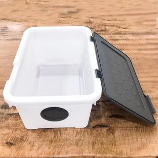 Thùng nhựa đa năng đựng đồ Dot living box Hàn Quốc 24L - OSB-LP-DL24- thumbnail