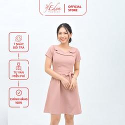 Váy Đầm Công Sở Nữ Thời Trang Eden Dáng Chữ A - D414