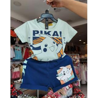 bộ pokemon cotton xinh cho bé trai và gái - bopokemonct thumbnail