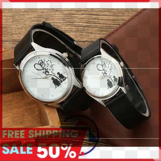 [MIỄN PHÍ VẬN CHUYỂN] Đồng hồ đôi tình nhân phong cách Hàn Quốc Luxury Korea, đồng hồ cặp mẫu mới nhất, tặng hộp và pin dự phòng, bảo hành 2 năm - TRANG2NGUOI thumbnail