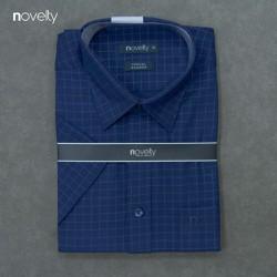 Áo sơ mi nam Novelty ngắn tay họa tiêt như hình 190996N