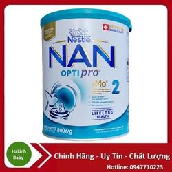 [Mẫu mới] Sữa bột Nan Nga số 2 800g [Date-2023]
