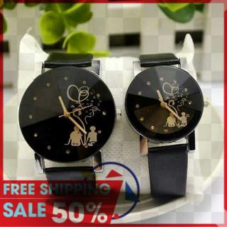 (2 chiếc) Đồng hồ đôi tình nhân siêu rẻ - Đồng hồ đôi TN thumbnail
