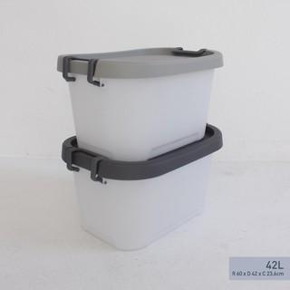 1 Thùng vuông nhựa lớn Curve livng box 42l - LSB-LP- thumbnail