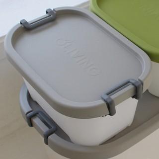 Thùng nhựa có nắp, có quai curve living box 26L - LSB-LP-CL26-GR02d thumbnail