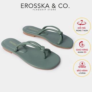 De p xo ngo n nư thơ i trang Erosska siêu mê m êm chân ma u xanh DC006 - DC006GE thumbnail