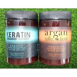 Hấp dầu, xã tóc ARGAN & KERATIN 1000ml