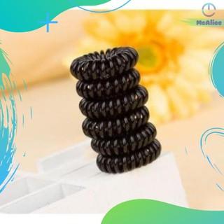 Dây buộc tóc lò xo nhựa xoắn đen, gọn gàng, không đau,cột tóc gọn gàng tiện dụng - DBT01 thumbnail