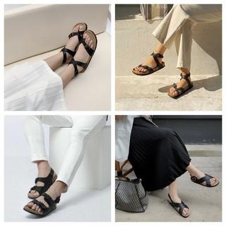 Bộ sưu tập giầy Sandal phong cách doanh nhân màu đen huyền bí - Dép Văn Phòng - SATA thumbnail