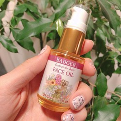 Dầu dưỡng da mặt hương hoa hồng hữu cơ Badger