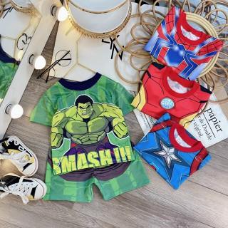 bộ siêu nhân sẵn kho 4 hình cho bé size 9-21kg - BSN thumbnail